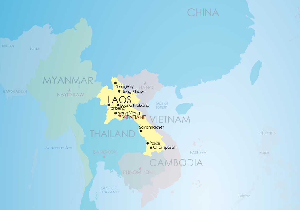 Discover laos with exo travel exo map laos gumiabroncs Images