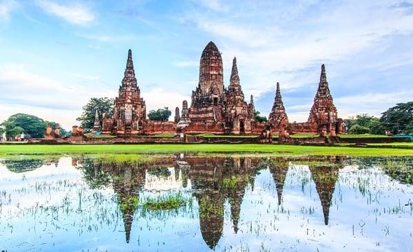 Bangkok to Laos North to South