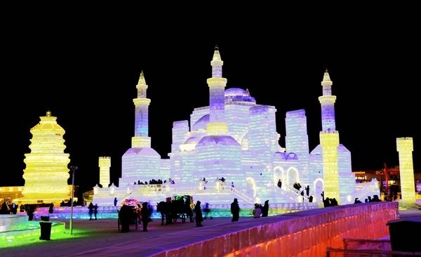 Harbin Ice Festival, January February