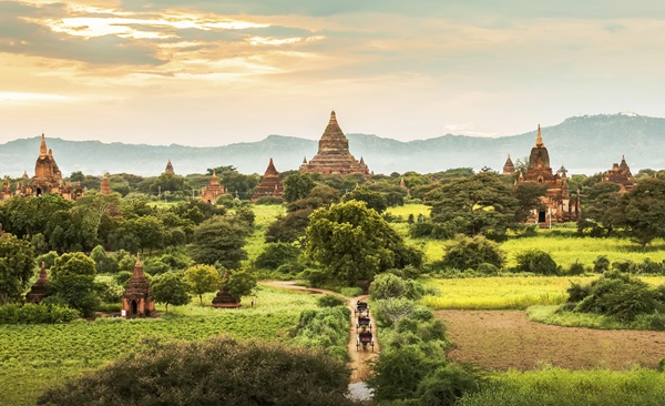Mandalay To Bagan With A View