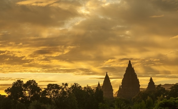 Java Temples, Plantation and Volcanoes