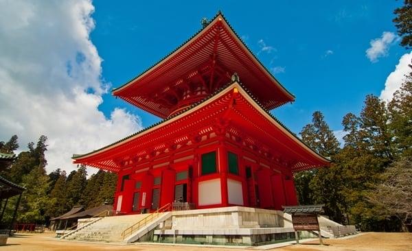 Mountaintop Temple Retreat