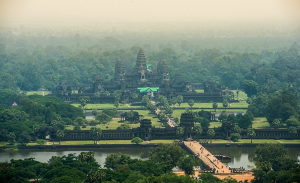 Tracing The Capitals Of The Khmer Empire