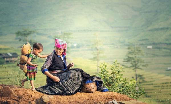 Colourful Ethnic Culture Sapa