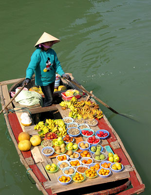 vn-mekong-delta-lady-selling-fruits-on-boat