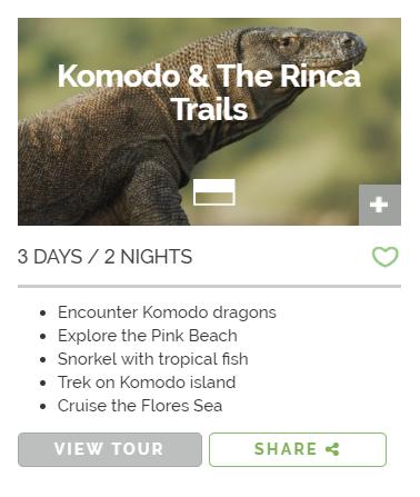 Komodo and the Rinca Trails