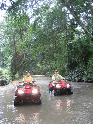 Start your Engines! Get ready for an Exciting ATV Ride through Bali's Batukaru Mountain 1