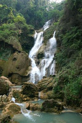 Swim, Eat, Walk, Relax – It's all possible at Kuang Si Falls, Laos 1