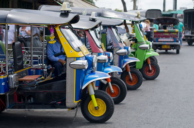 Hop on a Tuk Tuk and tour Southeast Asia's Big City Streets and Small Alley Roads 1