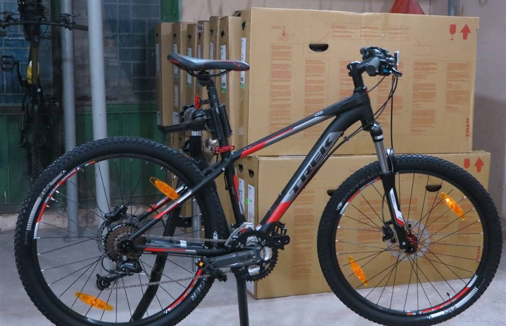 Exoadventure Receives 90 Brand New Mountain Bikes
