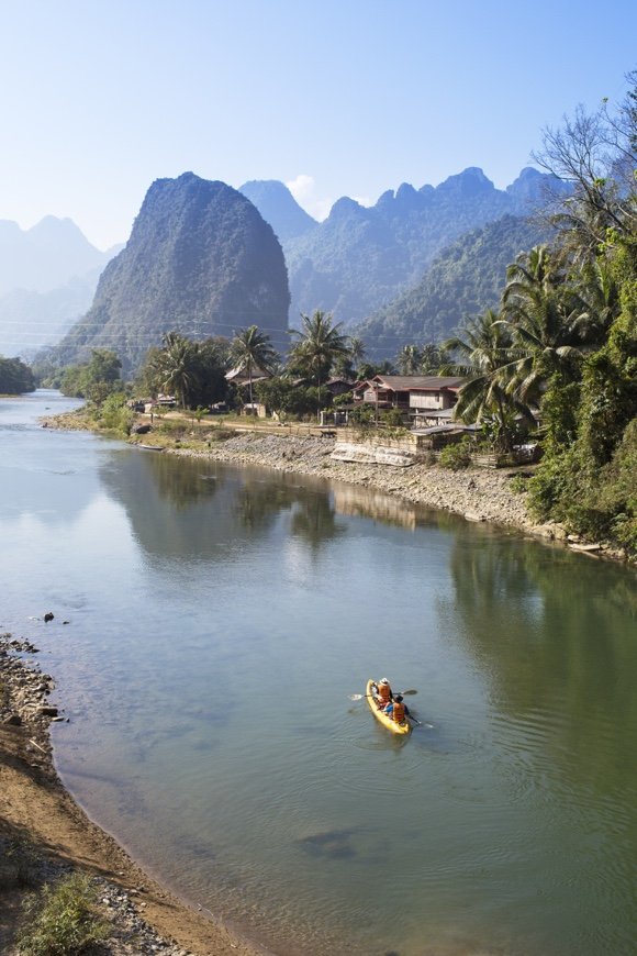 Adventure Calling - Kayaking Laos