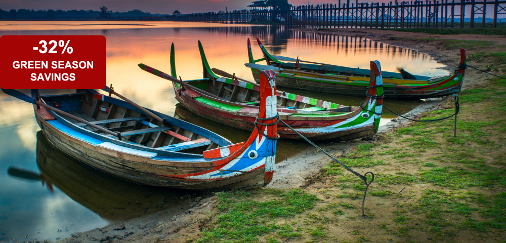 Myanmar: Green Season Luxury (8 Days / 7 Nights)