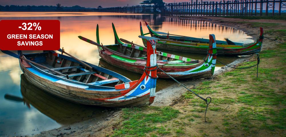 Myanmar: Green Season Luxury (8 Days / 7 Nights)
