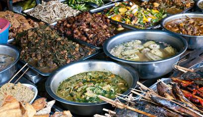 Cambodia Food Market