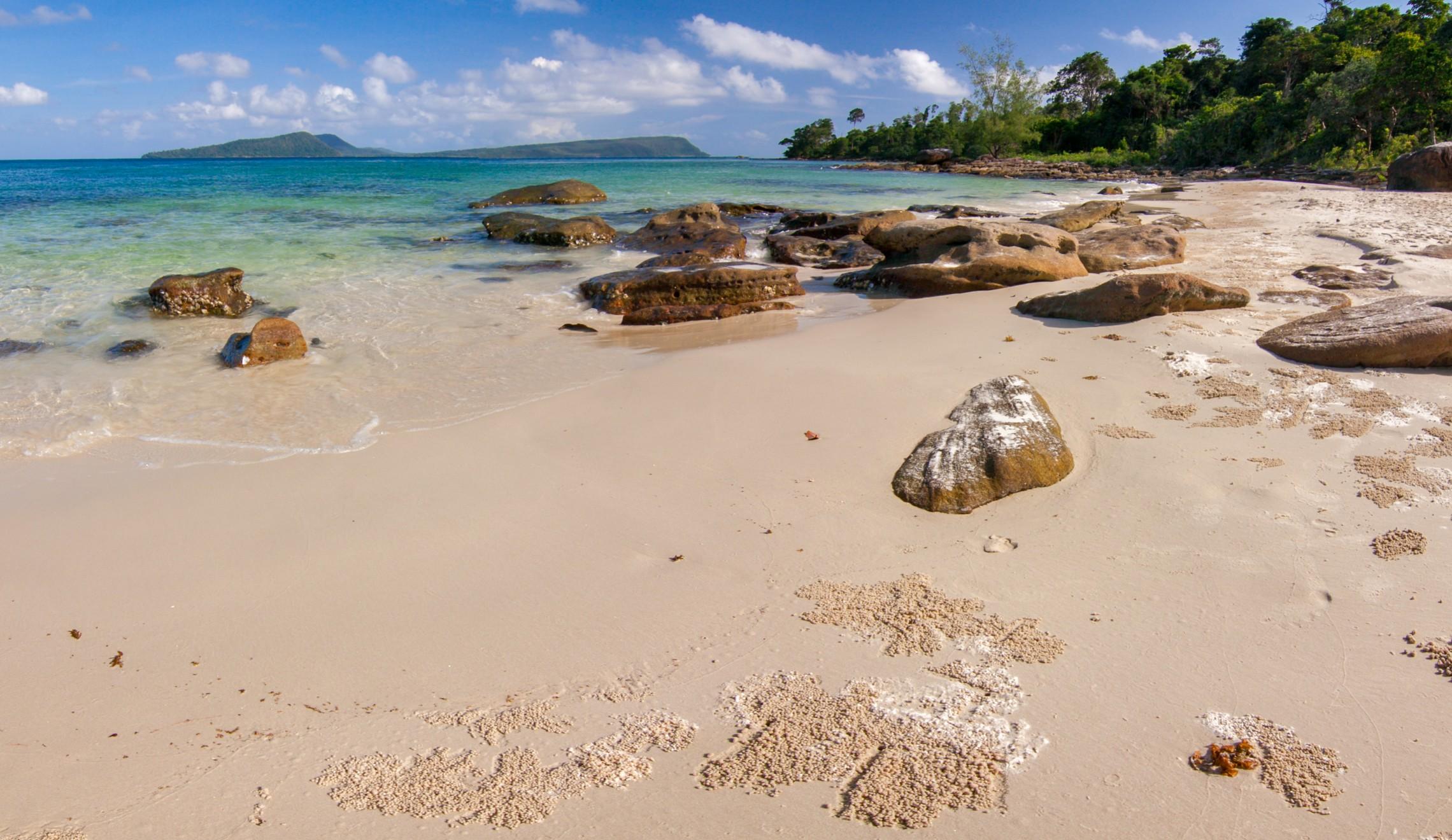 Cambodia-Beach