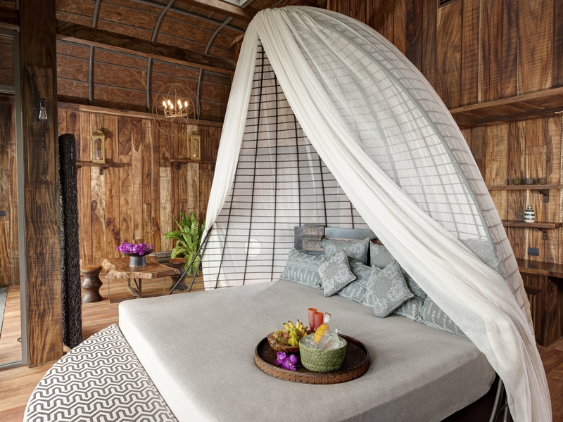 luxury eco resorts in southeast asia - bungaow room at keemala resort in Phuket