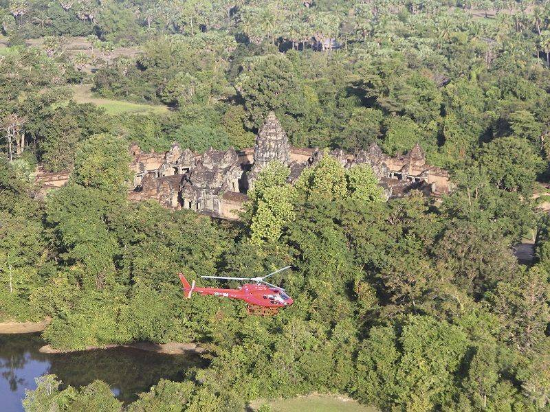 Photo of Private Helicopter Tour Over The Temples, cambodia