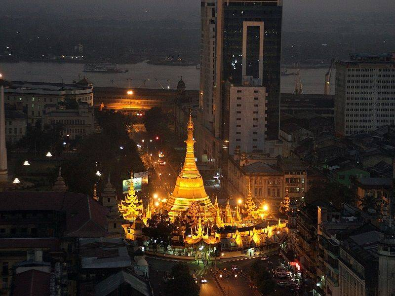 Photo of Yangon by Night, myanmar