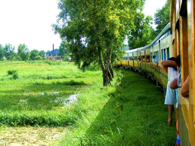 Photo of Yangon Circle Train, myanmar