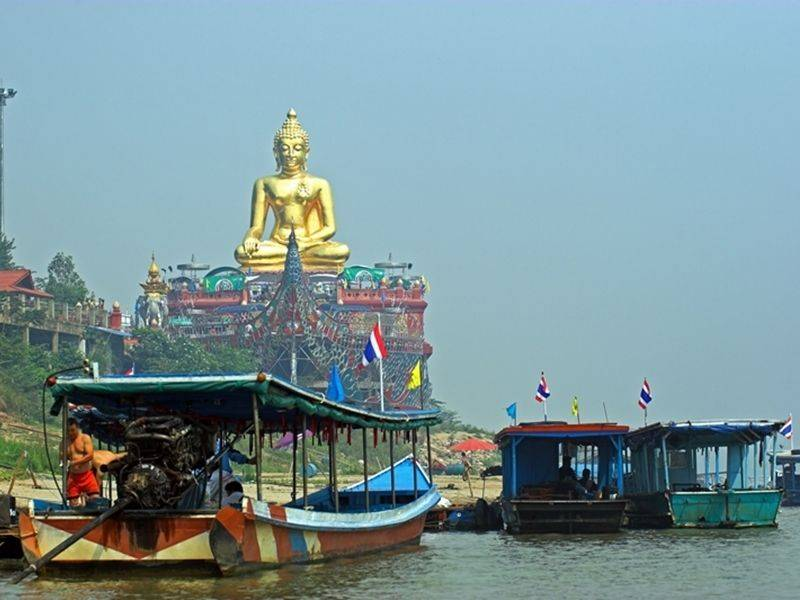 Photo of Golden Triangle & Mekong River (Town / GT), thailand