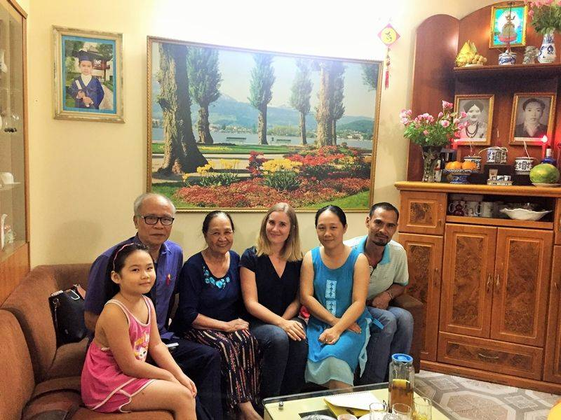 Photo of Dinner at Home in Hanoi, vietnam