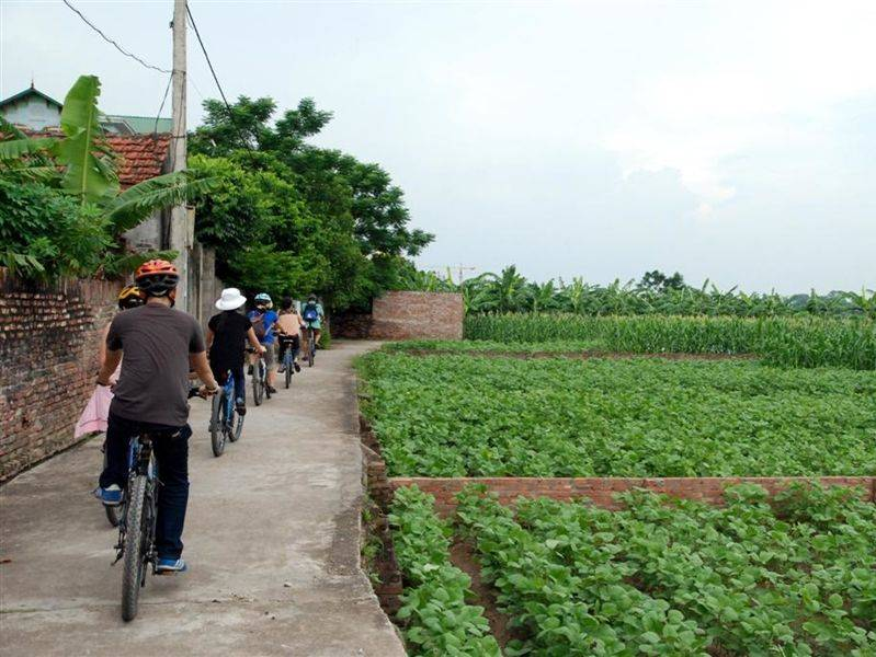 Photo of Hanoi Rural Life By Bicycle, vietnam