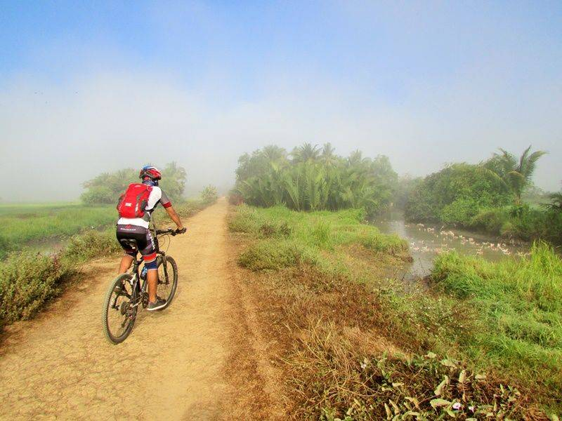 Photo of  Explore Irrawaddy Delta by Bicycle,Myanmar