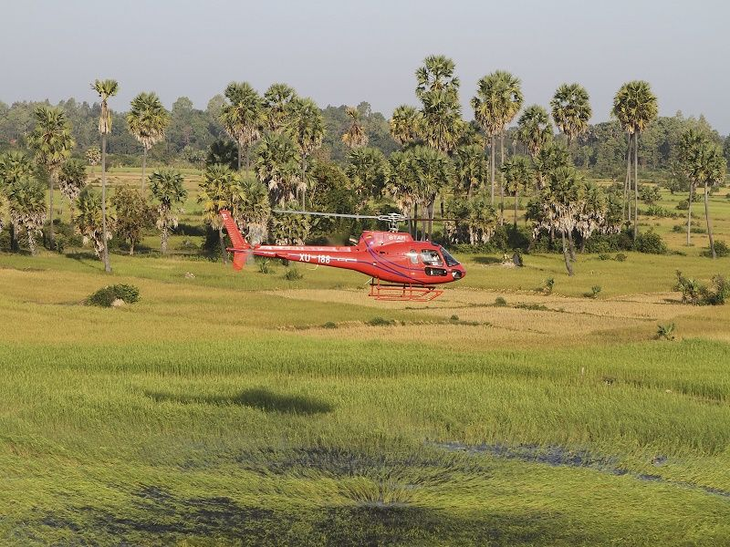 Photo of Helicopter - Koh Ker - Beng Mealea, cambodia