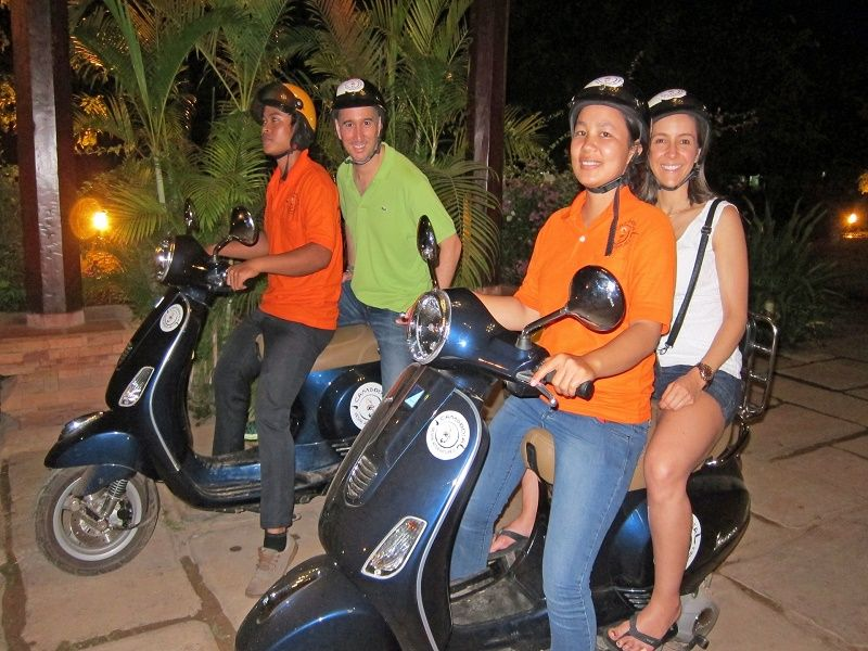 Photo of Vespa After Dark Foodie Tour, cambodia