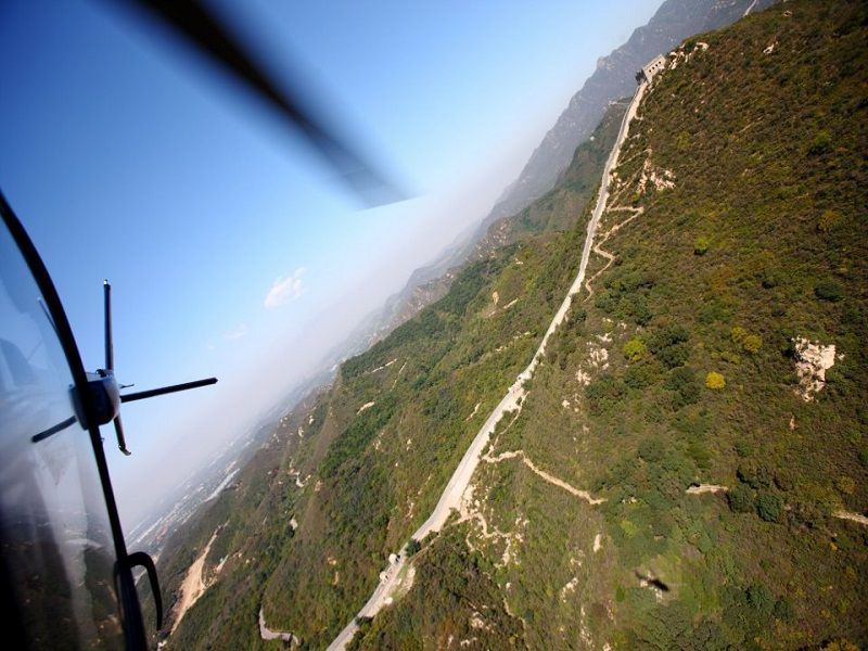 Photo of Fly above the Great Wall, china