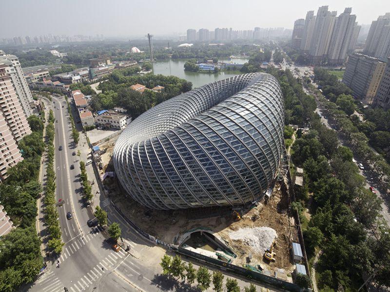 modern architecture in beijing
