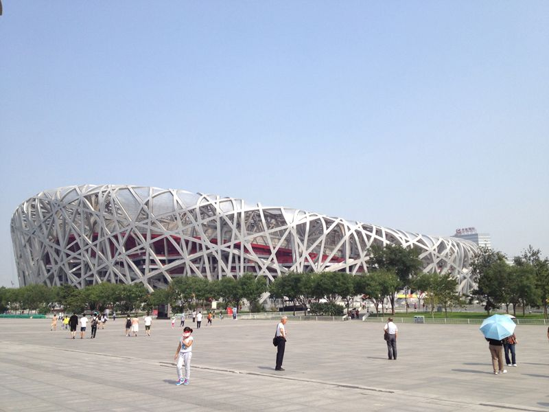 Photo of Modern Architecture in Beijing, china