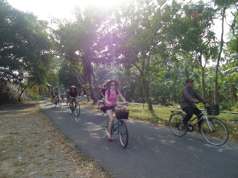 Photo of Cycling and Ricefields Jogjakarta, indonesia