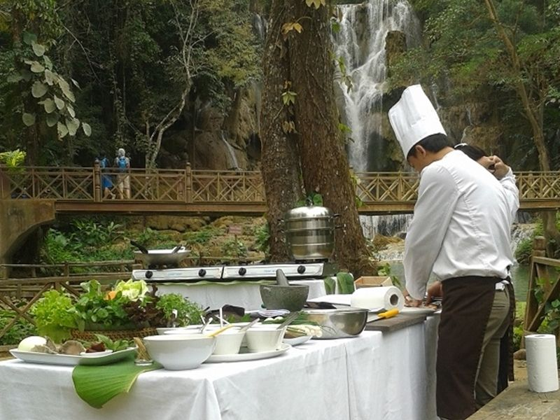 Photo of Private Cooking Class at Kuang Si, laos