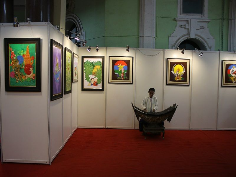 Photo of Art Galleries of Yangon, myanmar