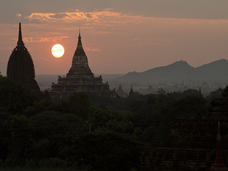 Photo of Bagan by Night, myanmar