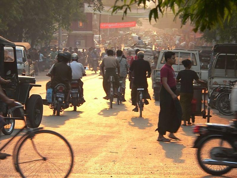 Photo of Mandalay nights by motorbike, myanmar