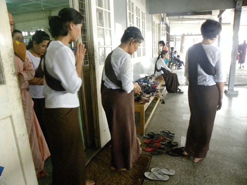 Photo of Meditation in a Monastery, myanmar