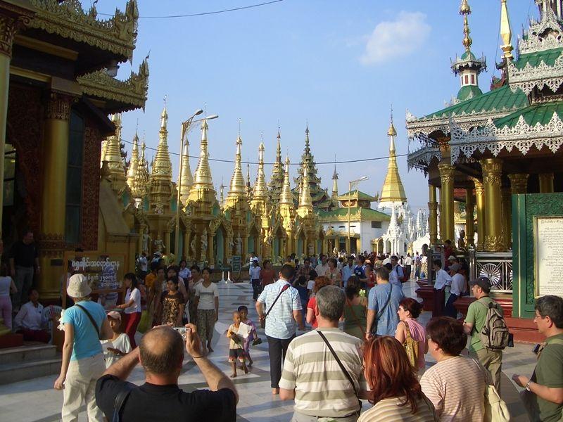Photo of Morning in Yangon: Monks, Markets & Mohinga, myanmar