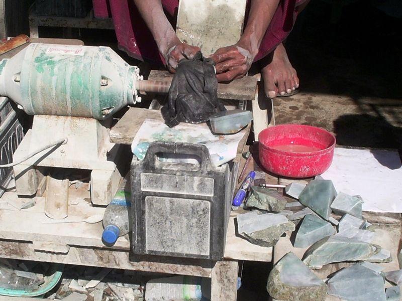 Photo of Trading Jade in Mandalay, myanmar