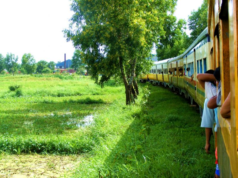 Photo of Yangon Circle Train, myanmar