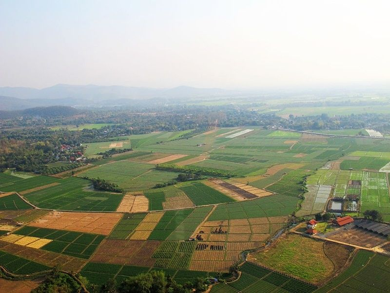 Photo of LUX : Chiang Mai From Above by PVT Helicopter, thailand