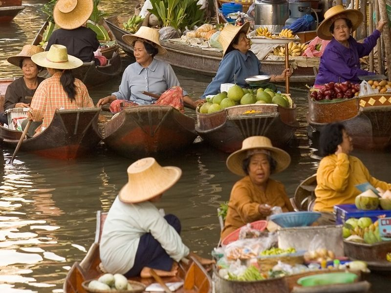 Photo of Floating Markets and Ancient Lifestyle, thailand