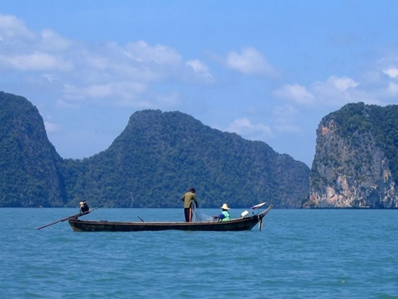 Photo of Limestone Caves and Lagoons by Kayak (PVT), thailand