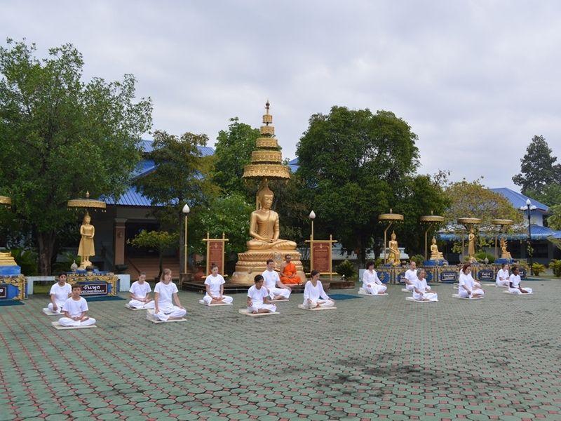 Photo of Meditation & Monk Chat at Wat Suan Dok, thailand
