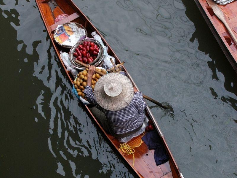 Photo of River Kwai via Damnoen Saduak Floating Market, thailand