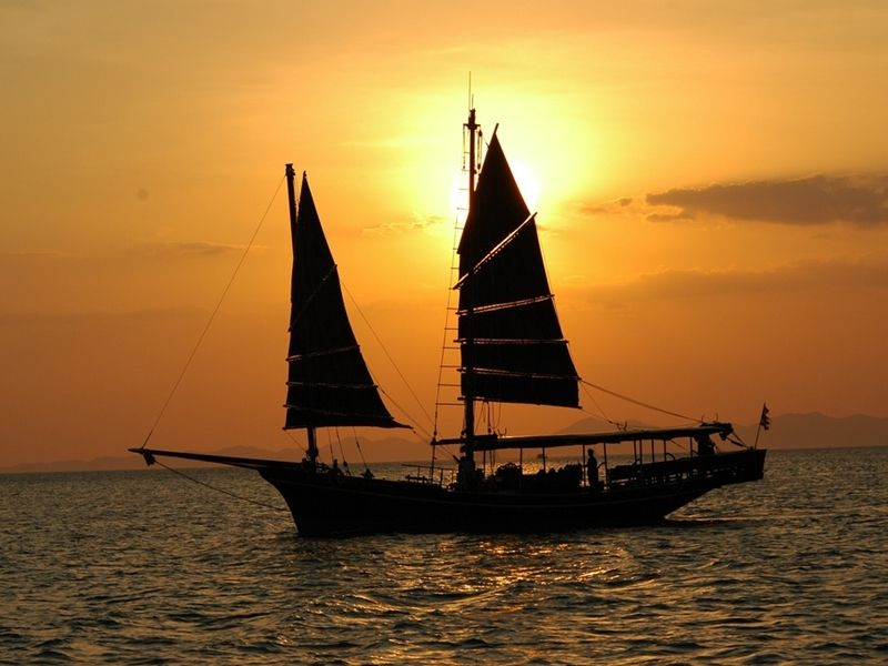 Photo of Round K.Phangan Day Cruise & Sunset on Chantara Junk(SIC), thailand