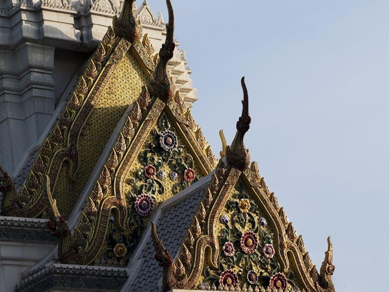 Photo of Thonburi Klong incl. Wat Arun & Royal Barge by LB, thailand