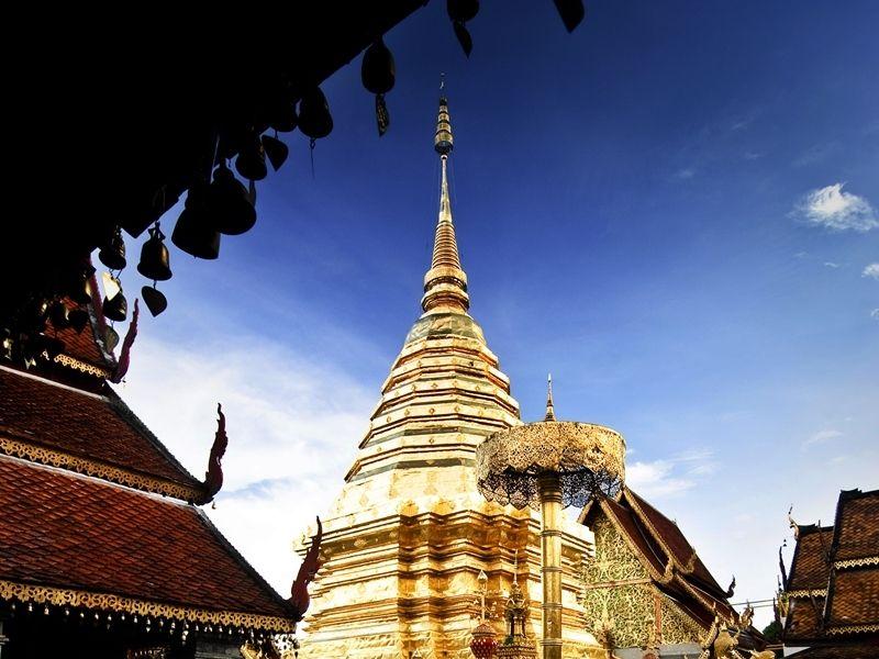 Photo of Wat Phra That Doi Suthep & White Hmong Hilltribe, thailand