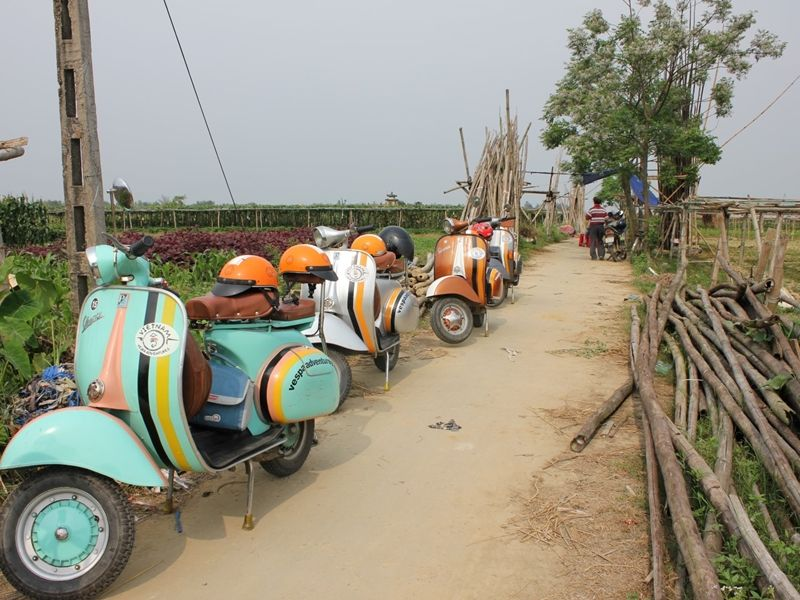 Photo of Hoi An Countryside by Vintage Vespa, vietnam